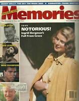 Memories Magazine February 1989 FIRST ISSUE Fidel Castro Muhammad Ali