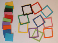 30 Mini Photo Frame Die Cuts (Quickutz) Card Topper Embellishments