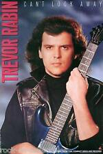 TREVOR RABIN 1989 CAN'T LOOK AWAY PROMO POSTER ORIGINAL