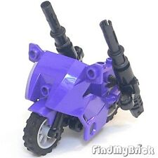 Lego Batman Catwoman Motorcycle with Super Cannon - Dark Purple 7779 6858 NEW