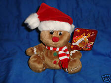 Sears Exclusive Christmas Plush Gingerbell W/Tag 2004
