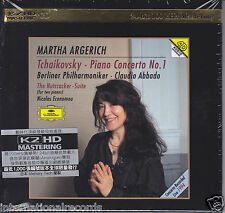 """Martha Argerich Tchaikovsky Piano Concerto No.1"" Limited Numbered Japan K2HD CD"