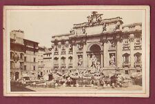CDV - ITALIE - ROME - fontaine de Trévi