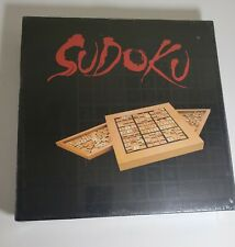 Sudoko Wooden Game Board and Pieces / New in Box / by Wood Expressions, Inc.