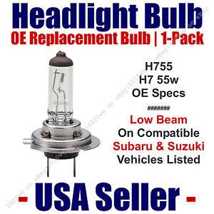 Headlight Bulb Low Beam OE Replacement For Select Subaru & Suzuki H7 55