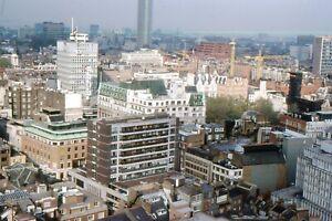 35mm SLIDES. BYGONE LONDON : AMAZING BIRDS EYE VIEWS OF THE CITY  1970's-1982