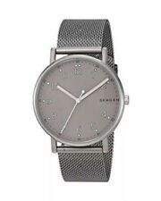 Skagen Gents Signatur Gunmetal Titanium Bracelet & Case SKW6354 Mens Watch