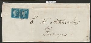 AA.68 -  Great Britain cover,1841,SG # ES11,certificate