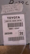 2005-2007 Toyota Corolla or Matrix 1.8 ecm ecu computer 89661-0Z043