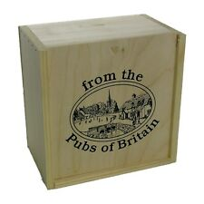 100 Beer Mats In A Wooden Box (pp)