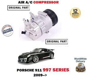 FOR PORSCHE 911 997 GT2 GT3 CARRERA 4 2009->NEW AC AIR CON CONDITION COMPRESSOR