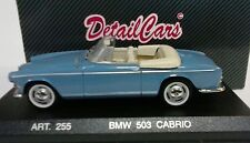DETAIL CARS DETAILCARS 1:43 AUTO DIE CAST BMW 503 CABRIO 1959 AZZURRA   ART 255