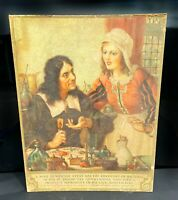 Antique Bausch & Lomb Optical Lithograph Advertising Collectible Victorian