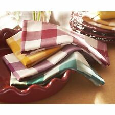 Pioneer Woman Charming Check Napkins Set of 4 18x18