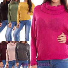 Maglione donna pullover sciarpa scaldacollo maniche pipistrello 2 pezzi CR-2411