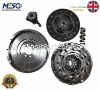 BRAND NEW O.E. SOLID FLYWHEEL CLUTCH CSC FORD TRANSIT MK7 2.4 6 SPEED 2006-2014