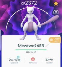 Pokemon Go SB MewTwo LEGACY SHADOW BALL Trade Ultra Friends If Needed