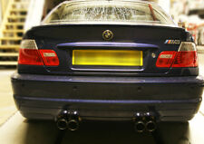 Custom Performance Exhaust System Fabrication BMW M3 E46 Trackday Race Road Cars