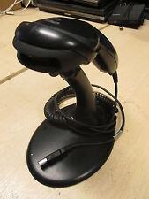 Metrologic Voyager MS9520 1D Handheld Barcode Reader USB Scanner Black + Stand