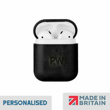 Personalised Apple Airpods Case PU Leather Cover, Personalised Christmas Gift