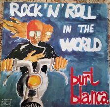 1977 ROCK 'n ROLL - BURT BLANCA - ROCK 'N ROLL IN THE WORLD DBLE LP ARIS ITALY