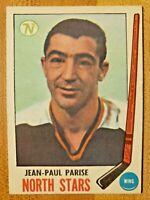 1969-70 O-Pee-Chee OPC Jean-Paul Parise #127 Minnesota North Stars