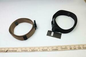 "(2) Wyuze Nylon Belt Outdoor Military Web Belt 1.5"" WY3-2BLUE"
