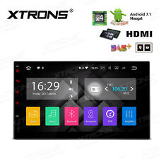 """Xtrons Android 7.1 Double 2 Din Car Stereo Radio 7"""" Gps Hdmi Dab+ 2Gb Ram 16Gb"""