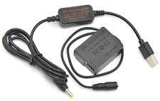 DMW-BLC12 mobile usb power cable+DMW-DCC8 DC couper for Panasonic FZ2000 GX8 GH2