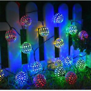 Ramadan Eid Decorations Fairy Lights Islam Moroccan Ball LED Party Hanging lamp