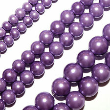 Magnetic Hematite Beads HIGH POWER Power Purple Round 6mm Beads Strands HPU1