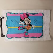 Dundee Minnie Mouse Pillowcase Ballerina Girls Bedding Collectible Disneyana Usa