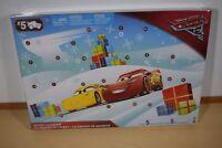Disney Pixar Cars 3 Advent Calendar FVG14 Kids Xmas Calander Gifts Toys NEW!