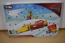 Disney Pixar Cars 3 Advent Calendar FVG14 Kids Xmas Calander Gifts Toys NEW!