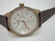 Ladies Rotary Day Date Rose Gold Watch  LB00160/02  (304)