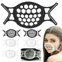 US 3D Face Mask Bracket Mouth Separate Inner Stand Holder Breathing Space Frame