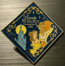 Disney Pin Beauty And The Beast Millennium Series 708