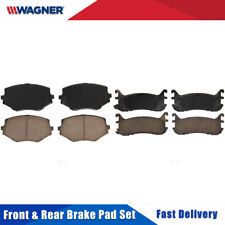 Disc Brake Pad Set-ThermoQuiet Brake Pad Front Wagner fits 11-14 Mazda 2 QC1454A