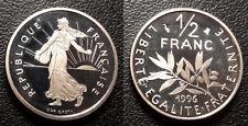 France - Vème République - 50 centimes semeuse 1996 - Coffret BE ! - KM#931.2