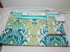 Waverly Set of 4 Napkins & 4 Placemats  WAVERLY DRESSED UP ~ Teal, Green NEW