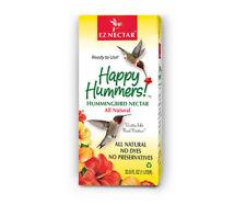 Gc - Eznectar - Happy Hummers - Ready-to-Use Hummingbird Feeder - 33.8 oz.
