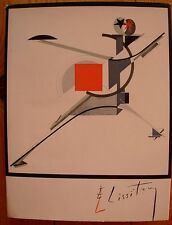 Russian avant-garde artist El Lissitsky Painting photo montage poster design