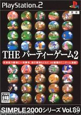 Used PS2  2000 Series Vol. 89: The Party Games 2 SONY PLAYSTATION 2 JAPAN