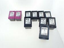 10 Empty HP 65 & 65 XL black 65 & 65 XL tri-color virgin used Printer Cartridges