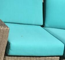 Sunbrella Canvas Boxed Cushion Slipcovers Outdoor Patio Replacement Covers with