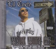 Lil cuete walk with Me CD New Sealed Mr Caponee,Mr Knightowl,Mr Criminal,