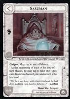 MECCG Middle Earth CCG • Saruman Black Bordered LIMITED ED FBB METW ENGLISH NM