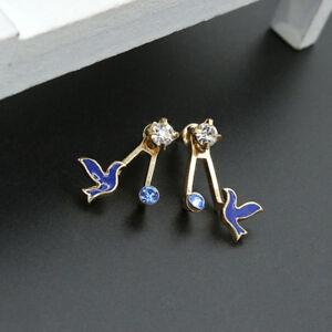 Fashion Girl Women  Vintage Birds Stud Earrings Christmas Party Gift Jewellery