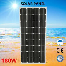 180W 12V MONO Solar Panel Kit Camping Charging RV CARAVAN 4X4