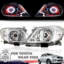 Projector Upgrade Front Head Lamp Drl Hid Set For 05+ Toyota Hilux Sr Vigo